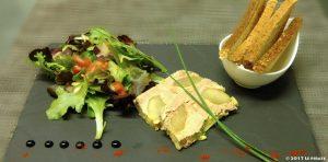 Foie gras aux poires